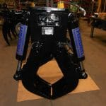 HC 60-B-9 A customized pole grapple turned into individual railroad tie handler